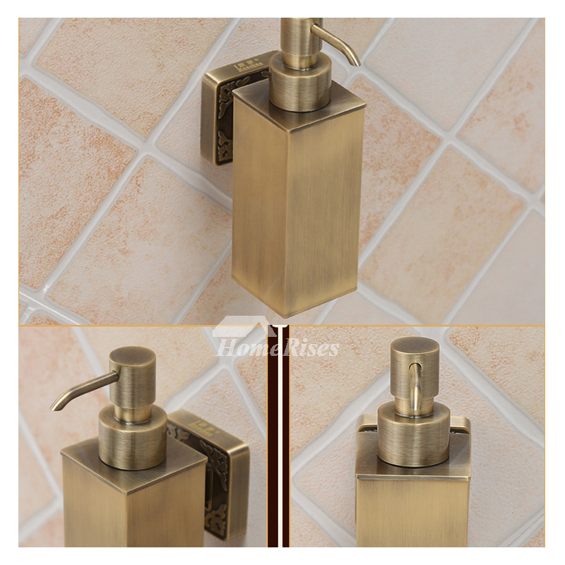 Fine Brass Soap Dispenser Wall Mount Gold Vintage Bathroom Best Unique Theyellowbook Wood Chair Design Ideas Theyellowbookinfo