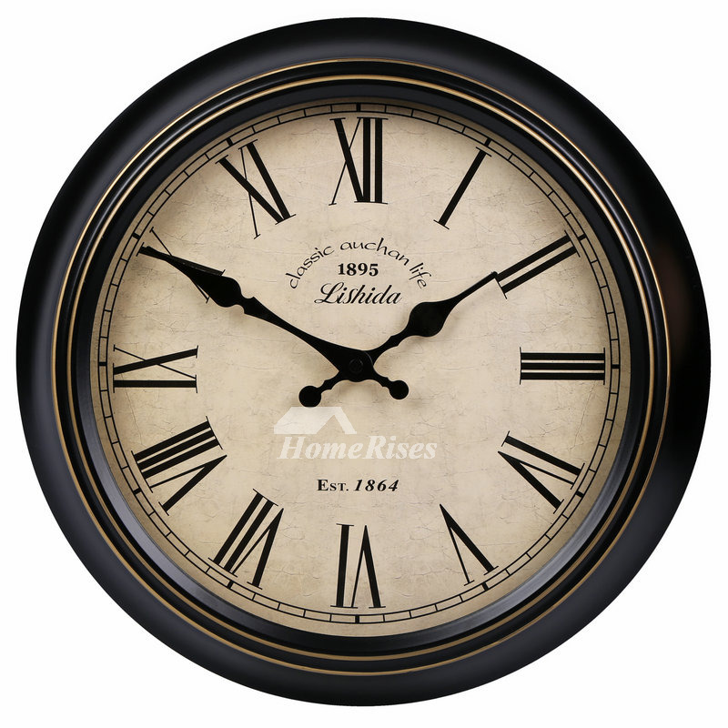 20 inch round wall clock