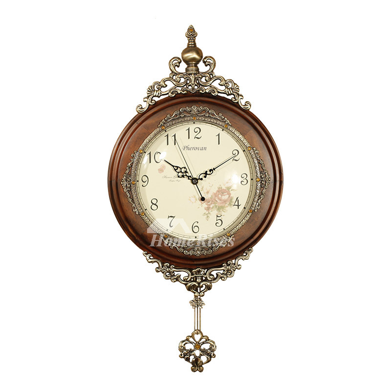 Antique Wall Clocks For Sale Modern Carved Pendulum Wood