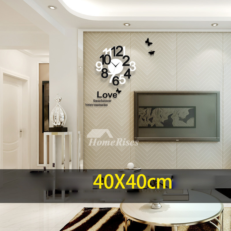 Wall Clocks For Sale Acrylic Modern Hanging Silent Living