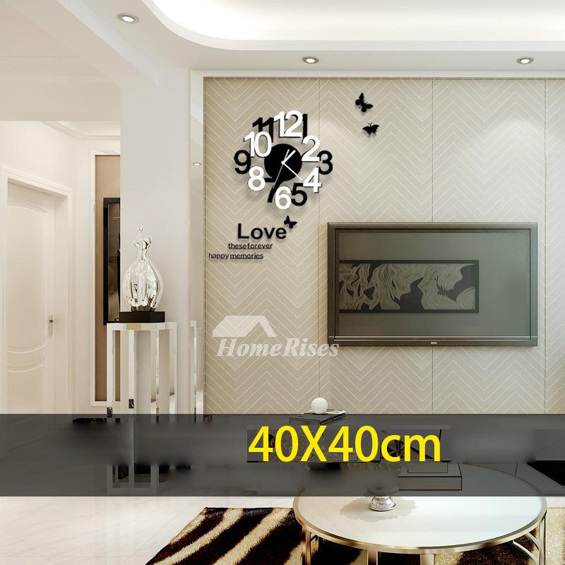 Hanging Wall Clock 157197236 Inch Modern Outdoor Bedroom
