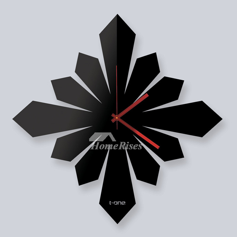 Unusual Wall Clocks Decorative Hanging Creative Acrylic