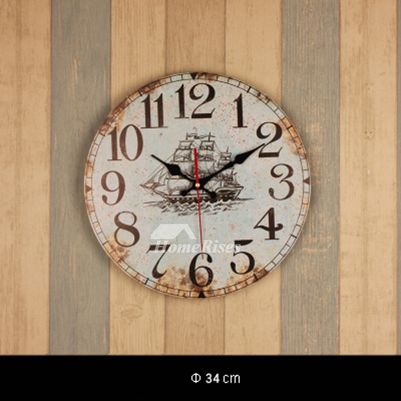 Cheap Wall Clocks 13 5 Inch Round Hanging Best Unusual