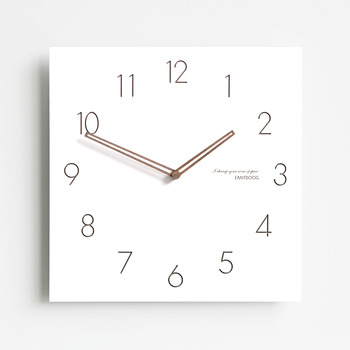 Square Electric Wall Clock
