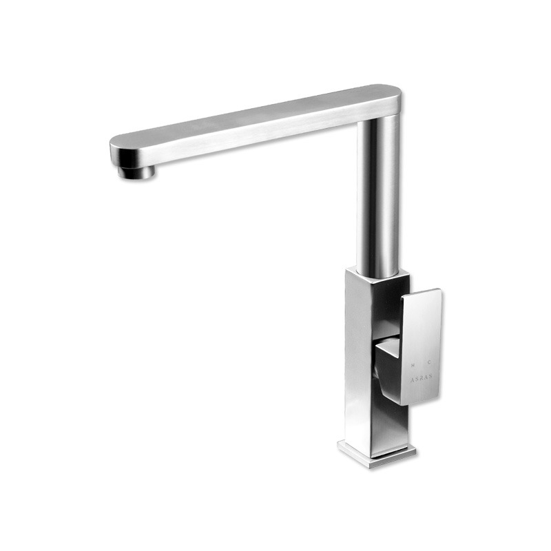 Kitchen Faucets Brushed Nickel Silver Stainless Steel
