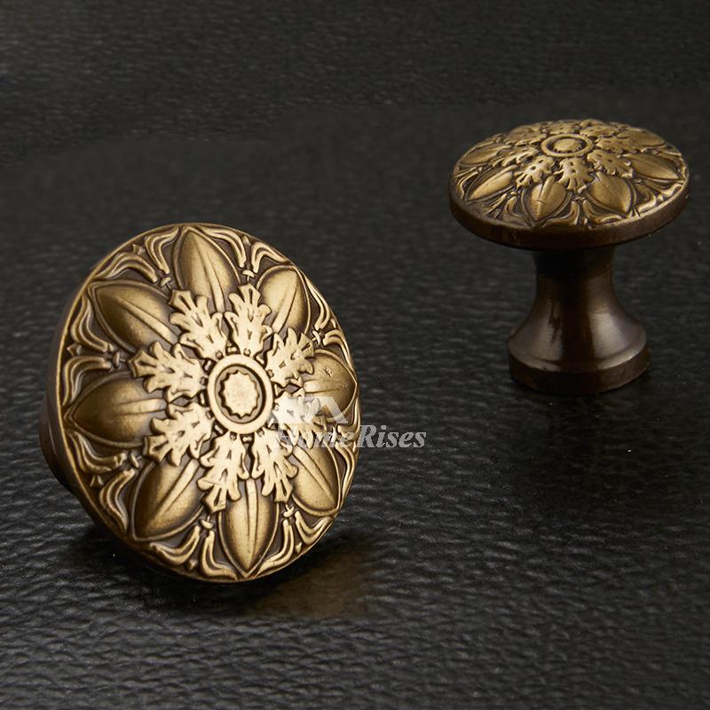 cheap door knobs carved antique brass bronze gold decorative. Black Bedroom Furniture Sets. Home Design Ideas