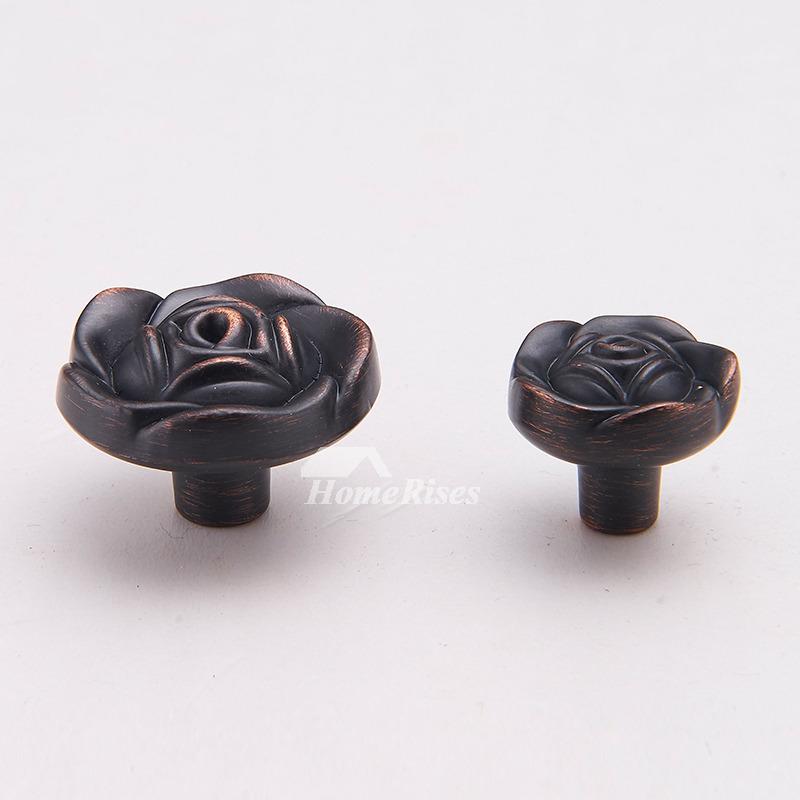 Bathroom Door Knobs Oil Rubbed Bronze Flower Black Cheap