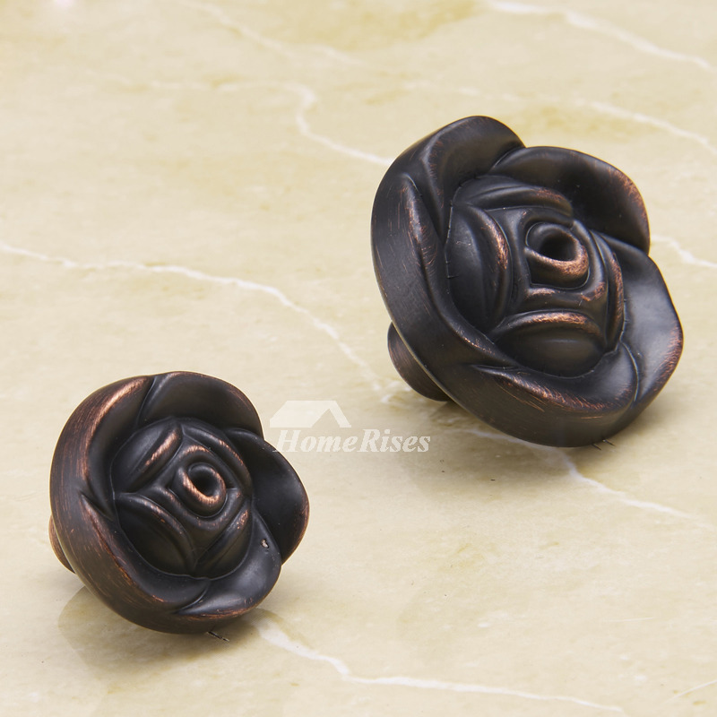 bathroom door knobs oil rubbed bronze flower black cheap carved - Bathroom Door Knobs