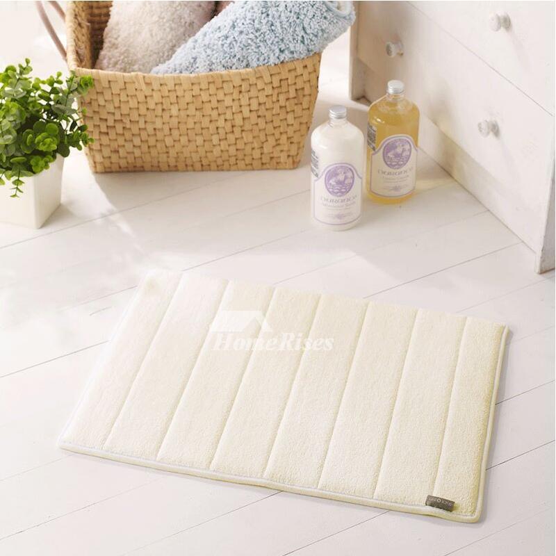 94 Non Slip Cotton Bath Mat Value Homezz 2 Piece