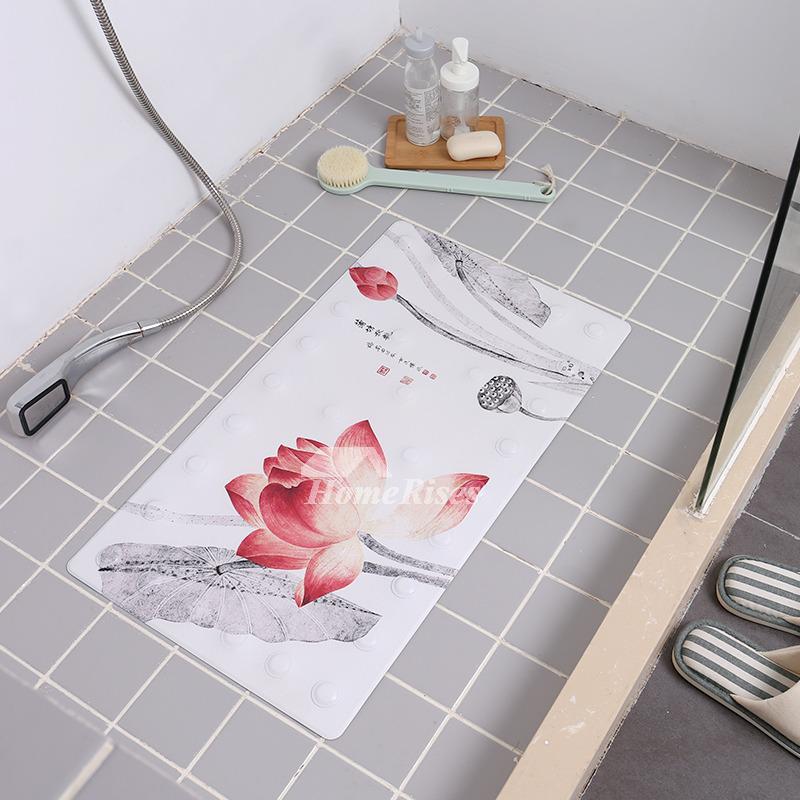Non Suction Cup Bath Mat