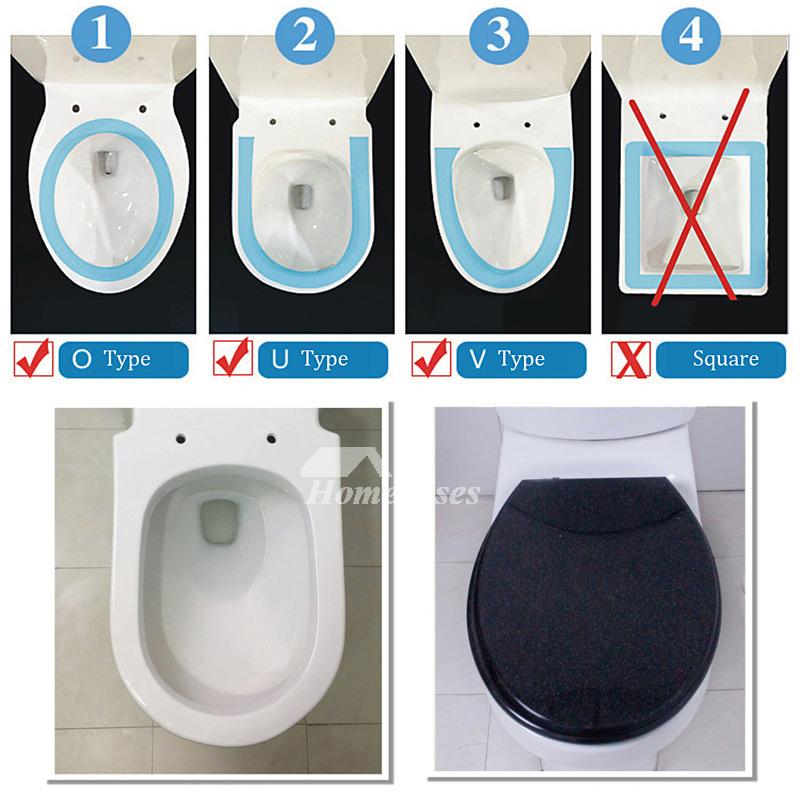 black square toilet seat. Glitter Toilet Seat Resin Black Silver Undermount Elongated Colored Designer
