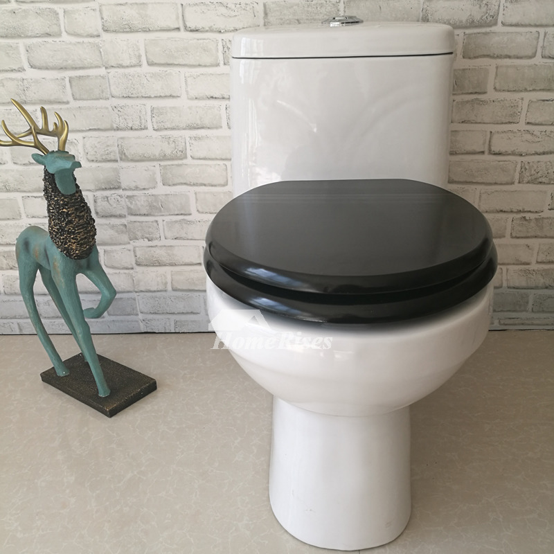 best slow close toilet seat. Slow Close Black Toilet Seat Wooden Silent Stainless Steel Cool Best
