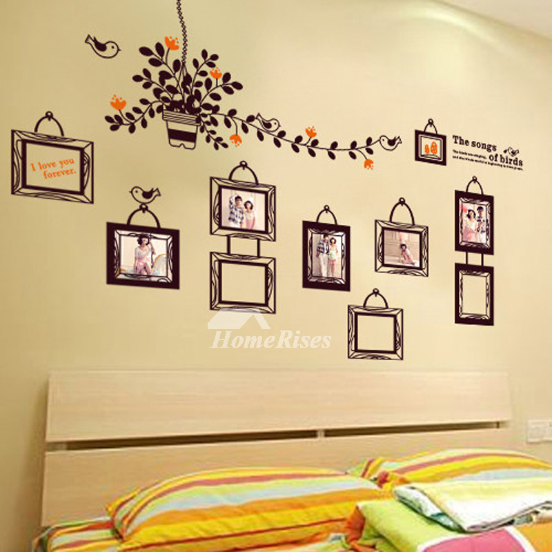 Wall Art Stickers World Map/Photo Frame/Towel/Animal PVC Self Adhesive