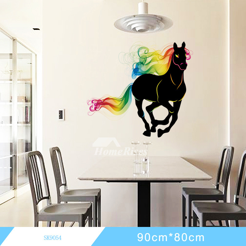 Decorative Animal Horse Light Dinosaur Big Wall Stickers