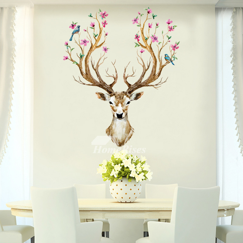 Animal Home Decor: Decorative Animal/Horse/Light/Dinosaur Big Wall Stickers