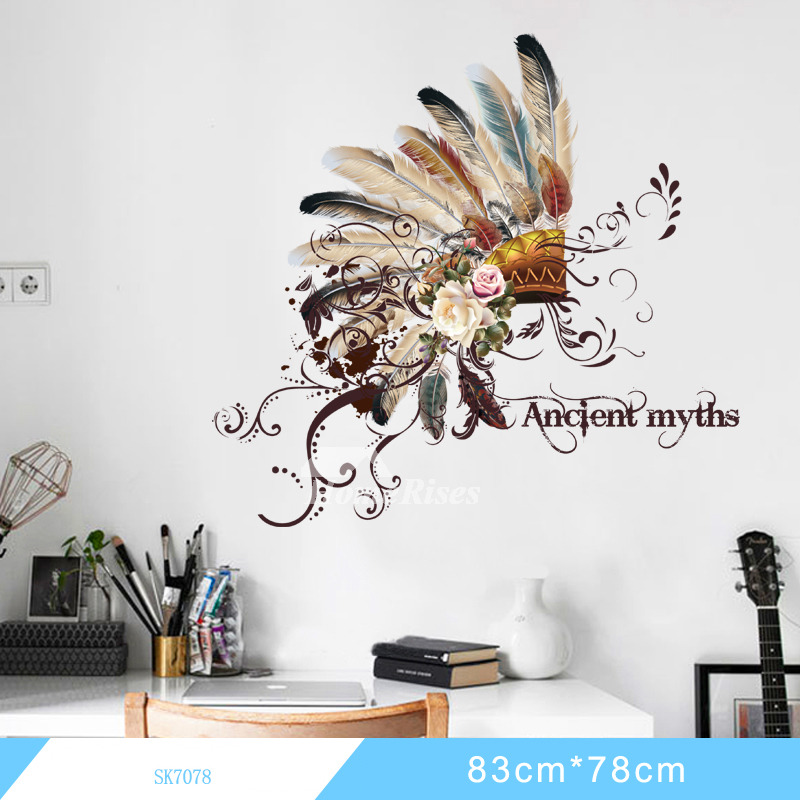 Decorative Photo Frame Feather Animal Feather Eagle Wall