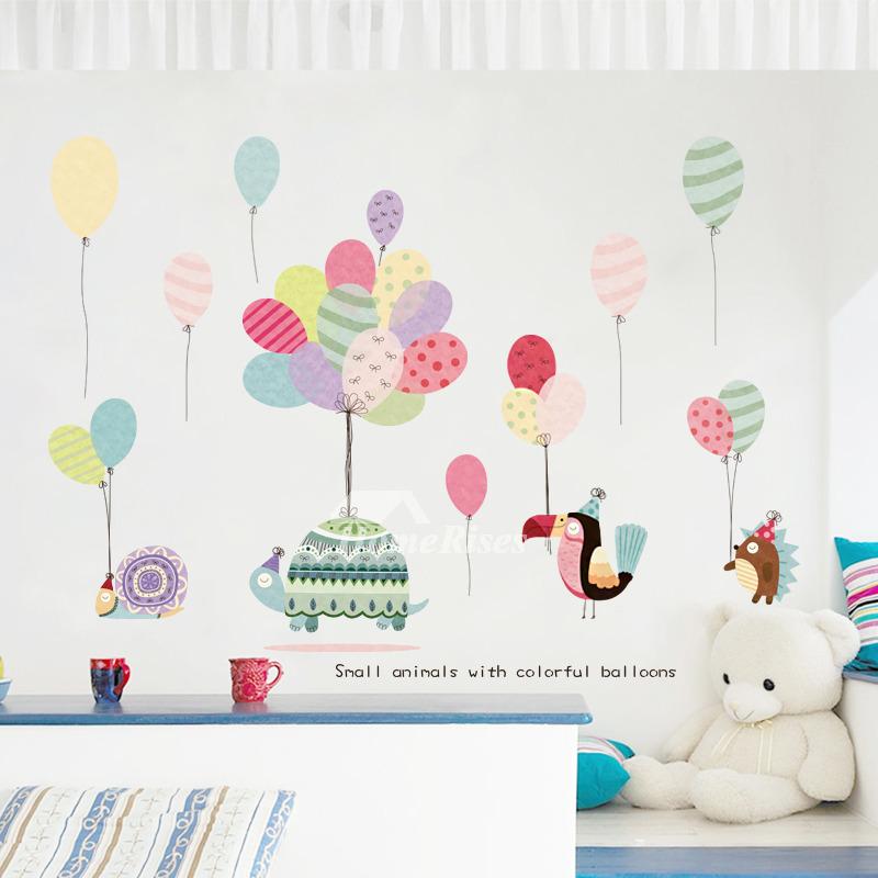 Wall Stickers For Kids Pvc Nursery Self Adhersive Multi Color Baby