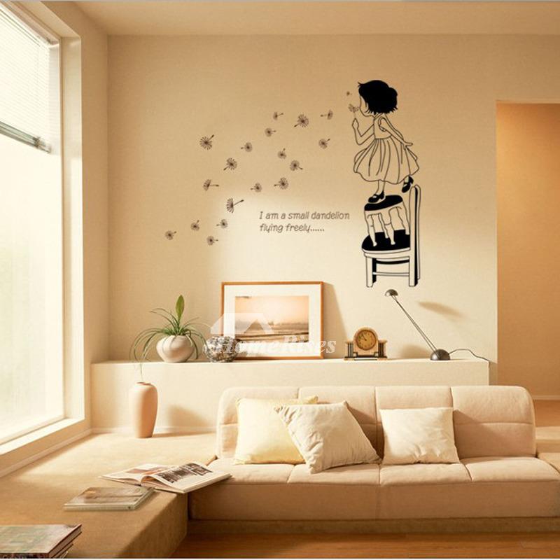 Bedroom Wall Art Stickers Photo Frame/Scenery/Girls/Light