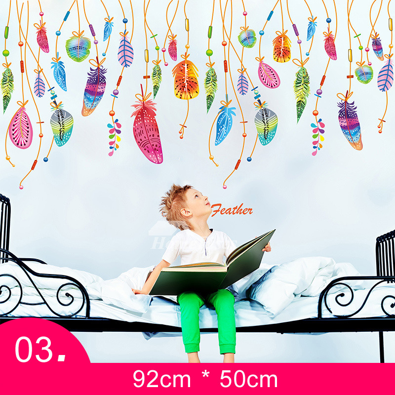 Wall Stickers For Kids Bedrooms Nursery Patterned Self Adhesive