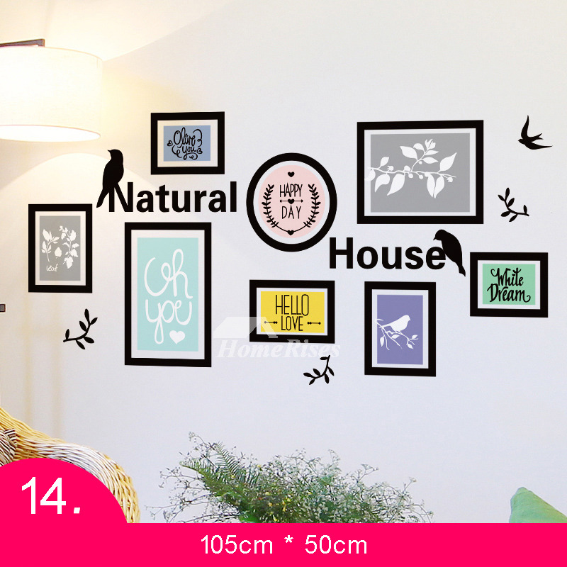 Self Adhesive Wall Stickers Photo Frame