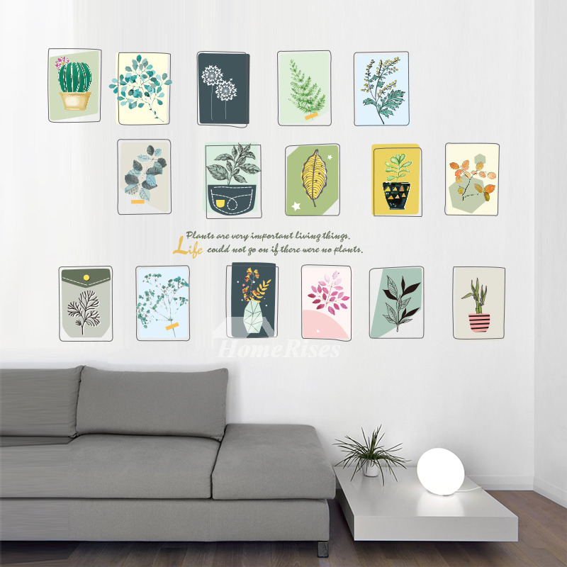 Photo Frames For Home Decor: Tree Wall Stickers Photo Frame PVC Home Decor Self Adhesive