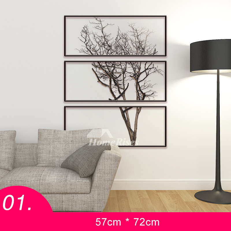 Tree Wall Stickers Animalletter Pvc Living Room Home Decor