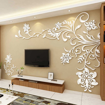 Living Room Wall Decor 3D Acrylic