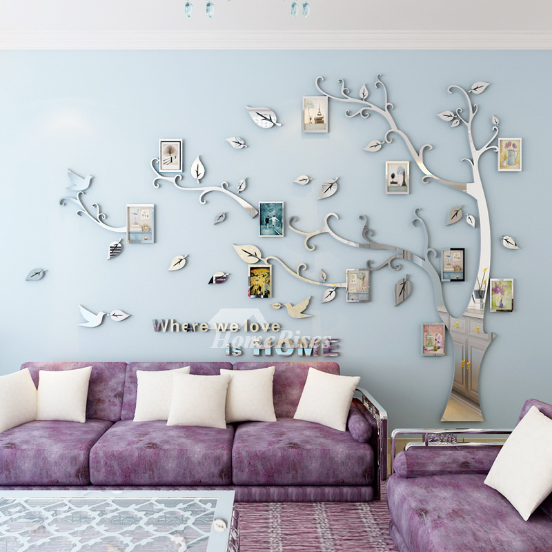 Tree Wall Decal Home Decor Self Adhesive 3d Personalised