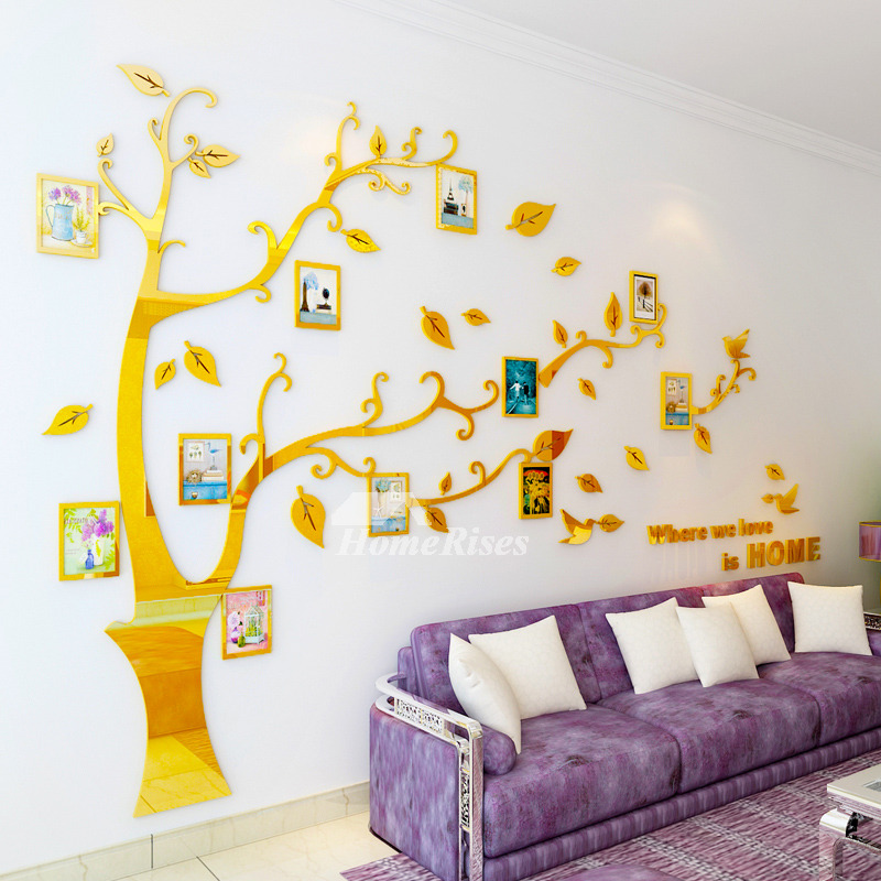 Tree Wall Decal Home Decor Self Adhesive 3D Personalised Creative
