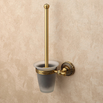Brass Toilet Brush Holder