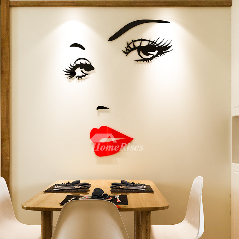 Wall Decals For Home Acrylic Girls Room 3d Decorative Art Decor