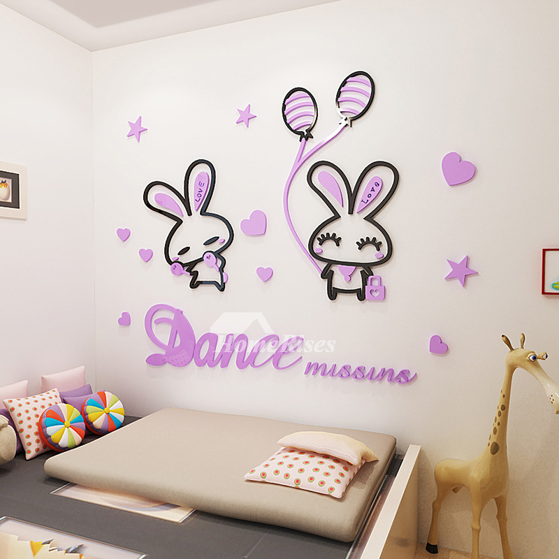 Animal Wall Decals Acrylic Home Decor Childrens Home Decor