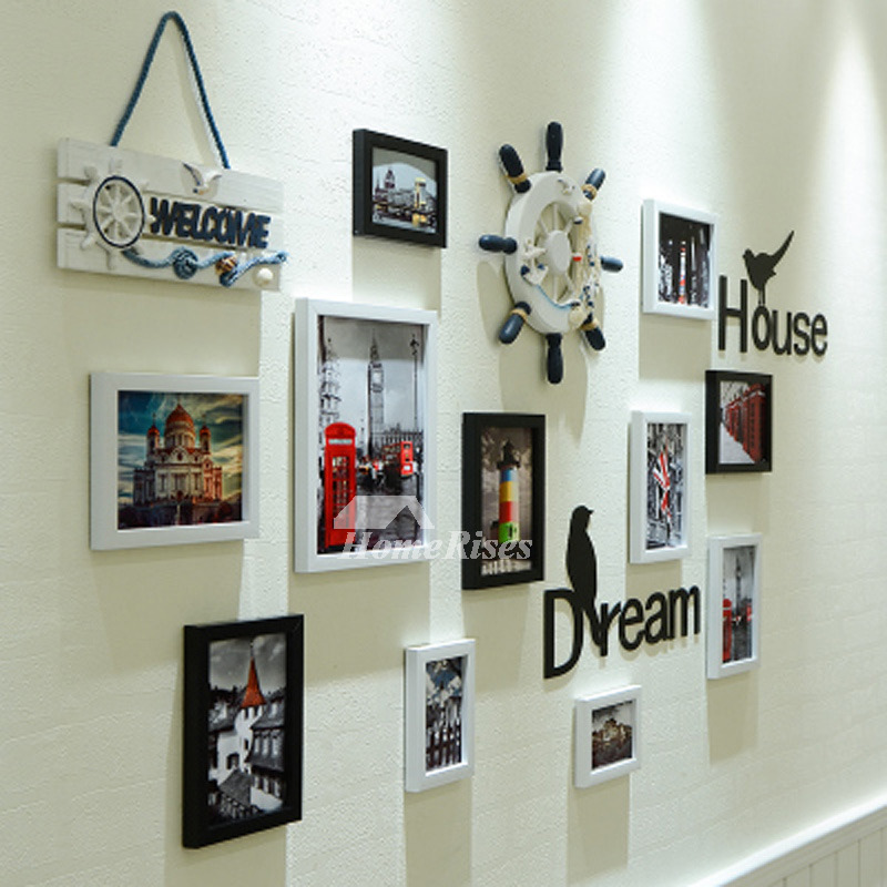 Family Wall Decals Photo Frame Mediterranean Home Decorative