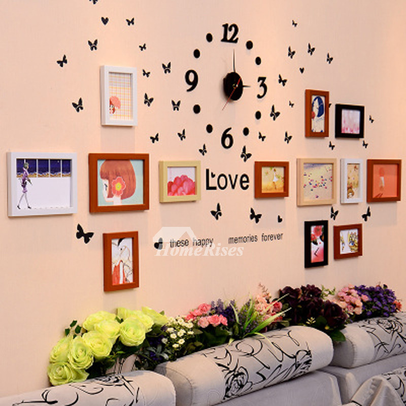 Decorative Wall Decals Pvc Home Decor Photo Frame Letter Designer Beauteous Designer Decor