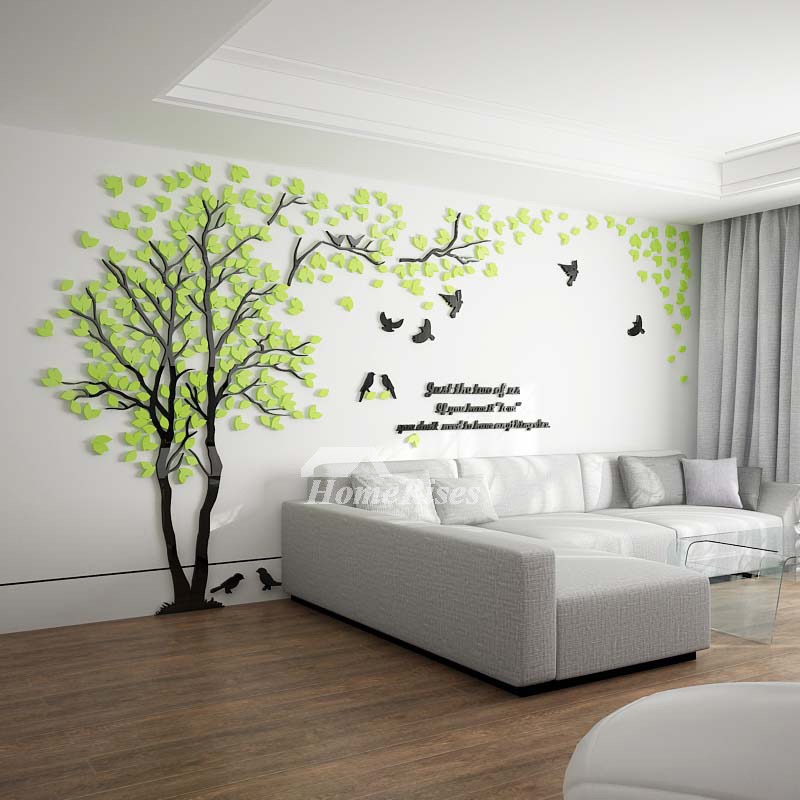 Tree Wall Decal Living Room Green