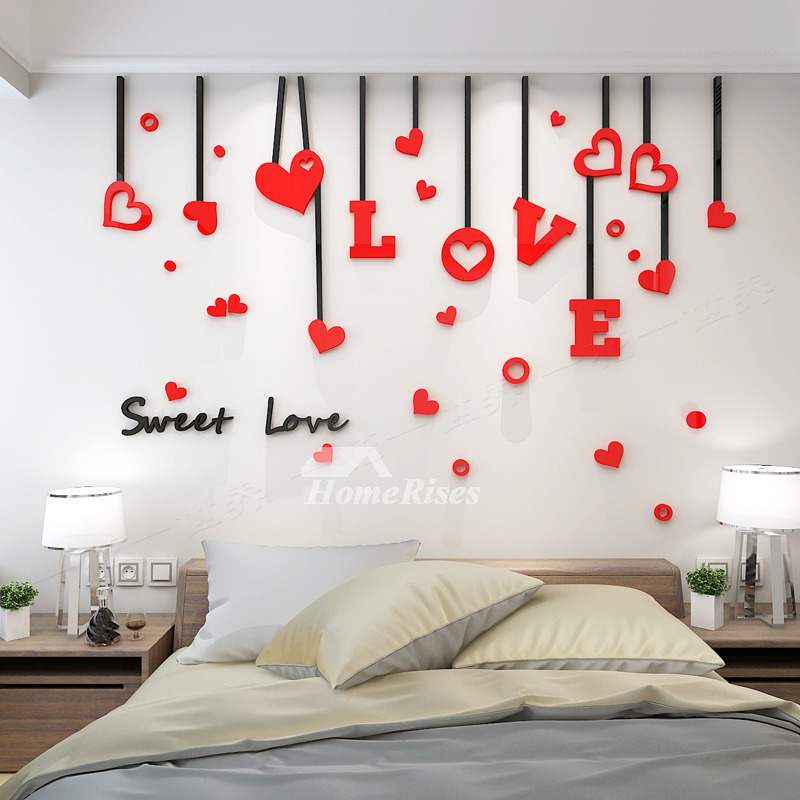 Love Wall Decals Acrylic 3d Living Room For Adults Living
