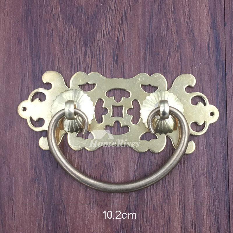3 5 4 5 Inch Polished Brass Cabinet Dresser Drawer Pull