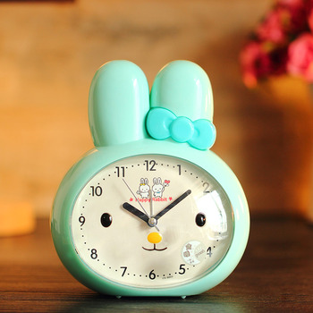 Pink Alarm Clock ABS Plastic Cute Loud Cartoon Best ...