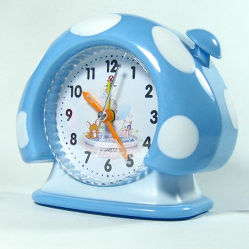 Kids Alarm Clock Cute Abs Plastic Funny Best Decorative