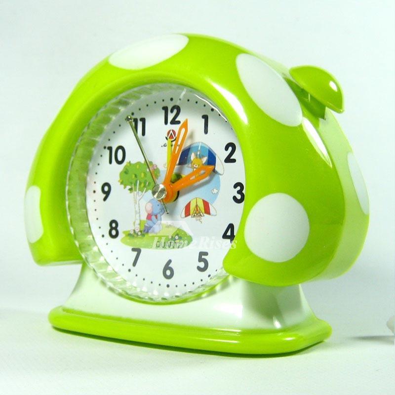 Modern Alarm Clock Cute Funny ABS Plastic Painting Unique Silent Best