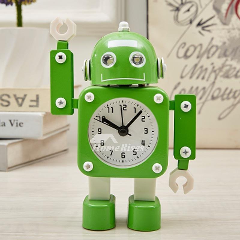 Children S Alarm Clock Red Green Plastic Metal Free