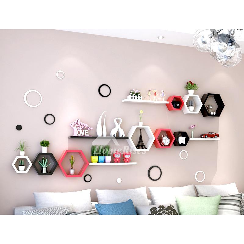 in wall shelves decorative bedroom storage living room