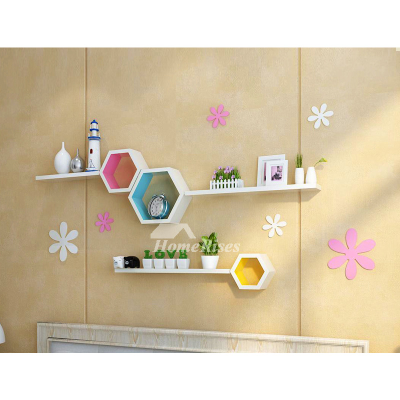 Wall Shelves Wooden Decorative Modern Living Room For Sale