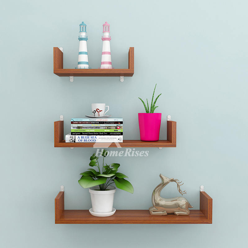 modern wall shelves pink blue brown red wooden decorative ledges. Black Bedroom Furniture Sets. Home Design Ideas
