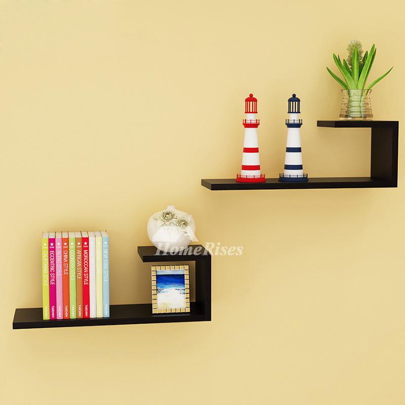 Wall Mounted Book Shelves Contemporary