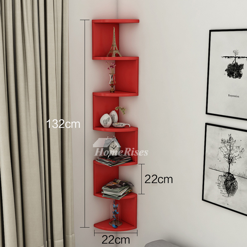 Kitchen Shelves Wall Mounted: Wall Mounted Kitchen Shelves Corner Wooden Decorative