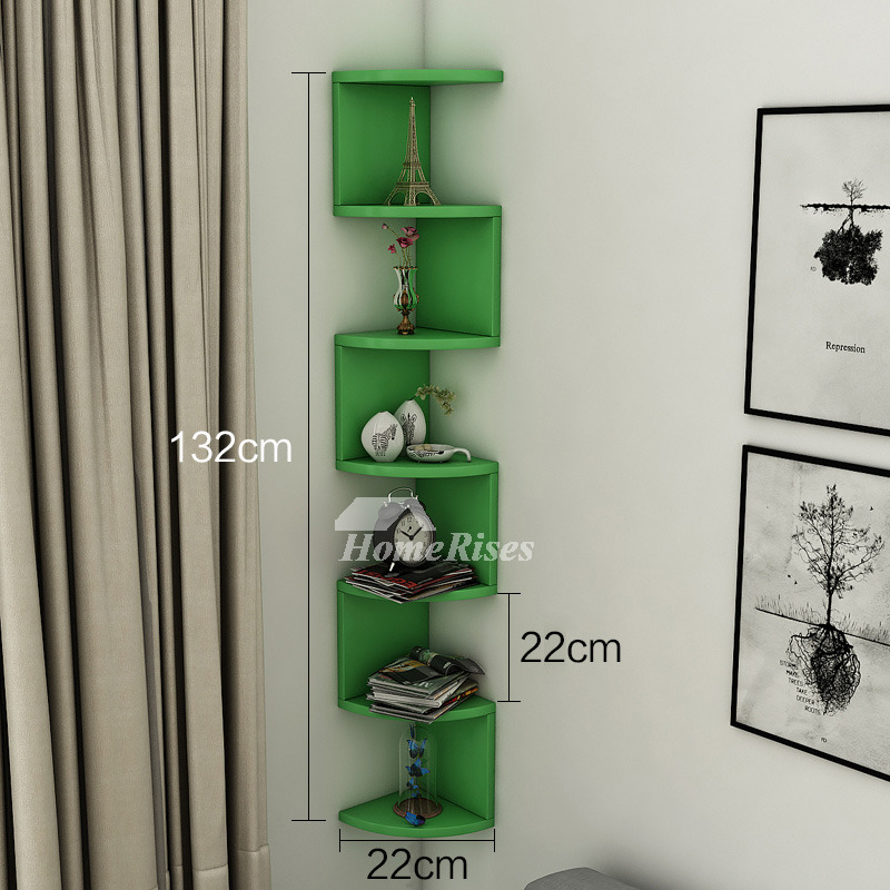 in wall mounted display shelves corner wooden unique bedroom best. Black Bedroom Furniture Sets. Home Design Ideas