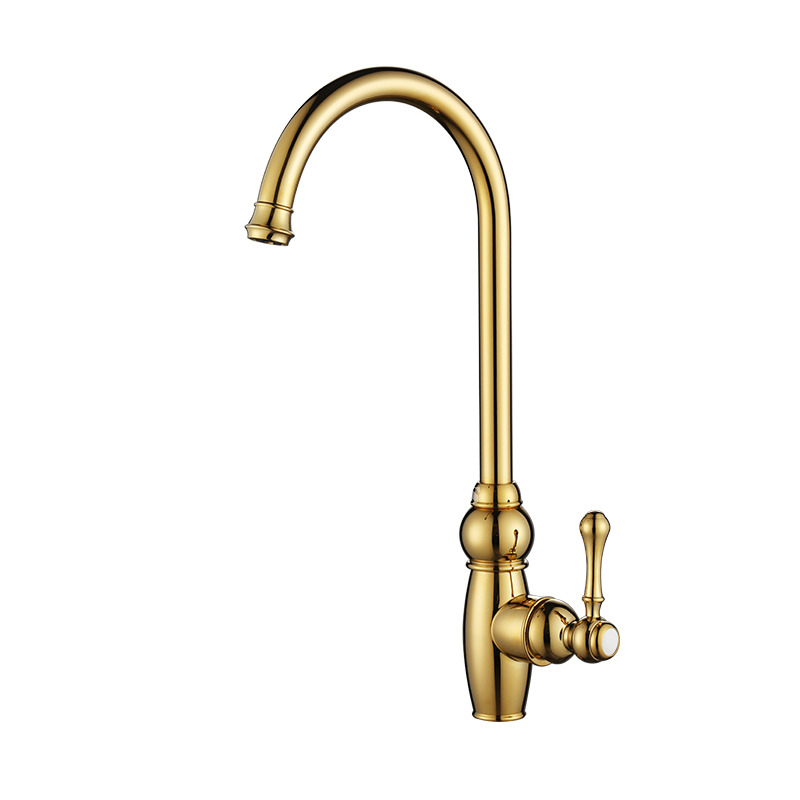 polished brass kitchen faucets high end kitchen faucets goosenck luxury single handle polished brass 2561