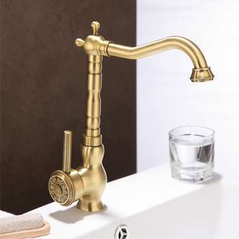 Gold Kitchen Faucet