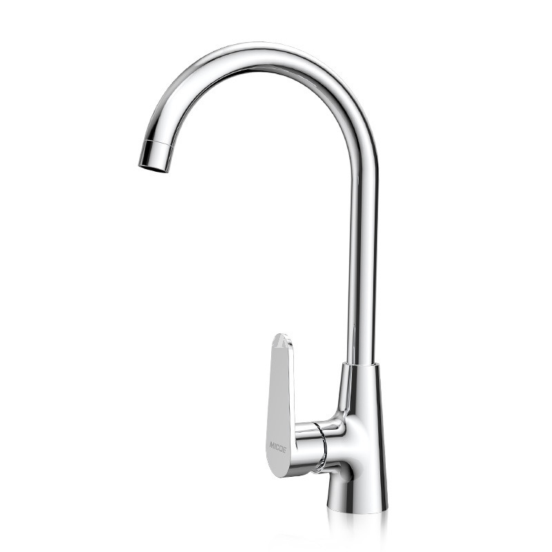 cheap kitchen faucet cheap kitchen faucets gooseneck silver brass single handle centerset 3260